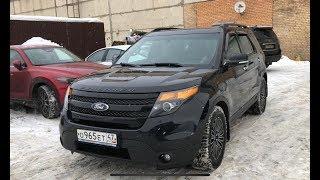 "Ford Explorer Sport 345 л.с. - Пять метров ""Luxury"" по цене Соляриса"