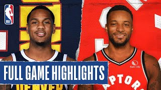 NUGGETS at RAPTORS | FULL GAME HIGHLIGHTS | August 14, 2020