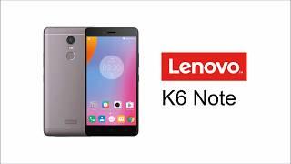 Lenovo K6 Note Default Ringtone (Fantastic Clang)