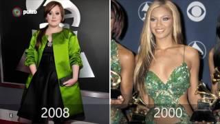 Versus de Beyoncé y Adele en la alfombra roja de los Grammy