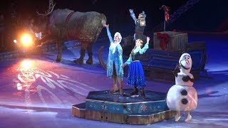 """""""Disney on Ice: Frozen and Friends"""" 2018 HIGHLIGHTS from Long Beach, California"""