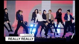 위너(WINNER)[4K 직캠]REALLY REALLY, 울산 쇼! 음악중심@170724 Rock Music