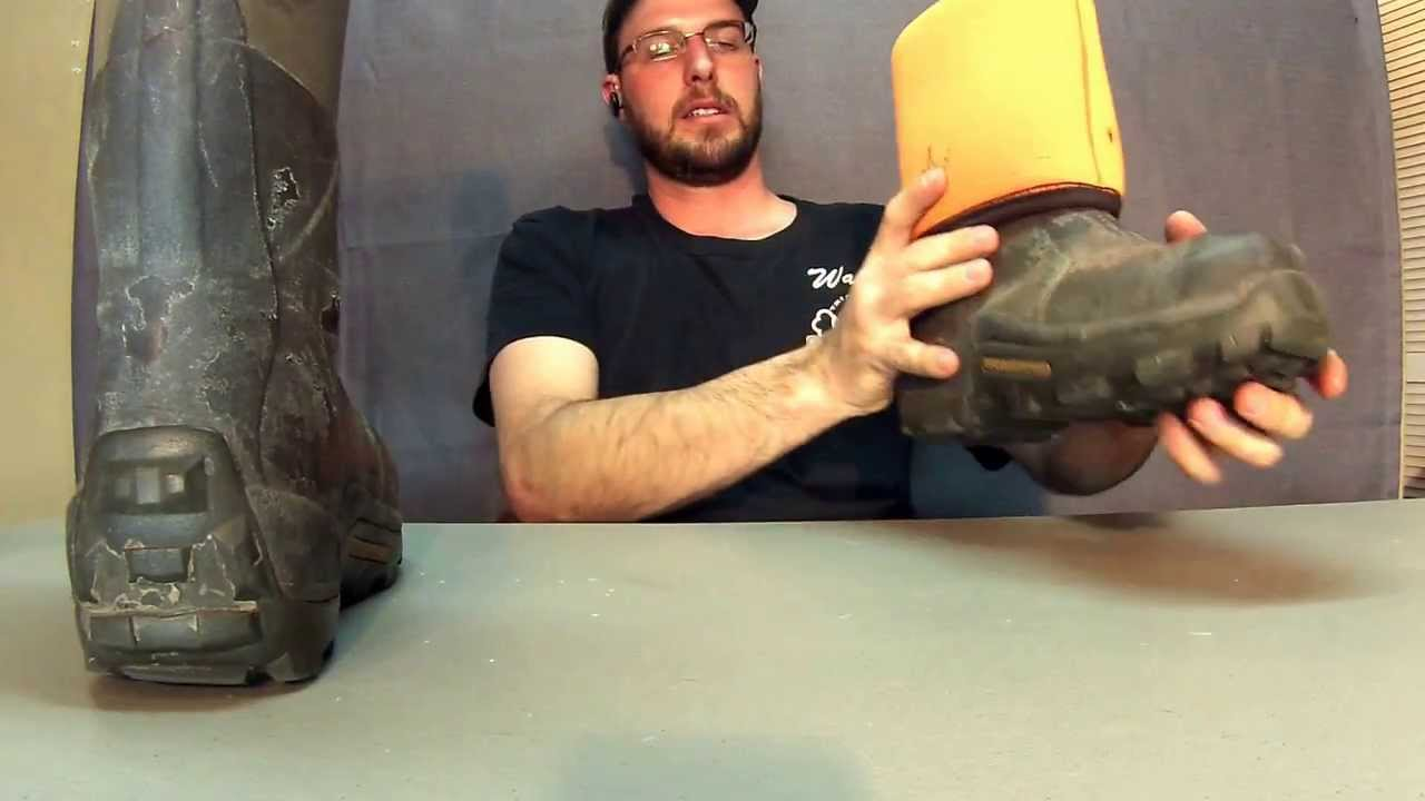 Muck Boot Review (wetlands) - YouTube