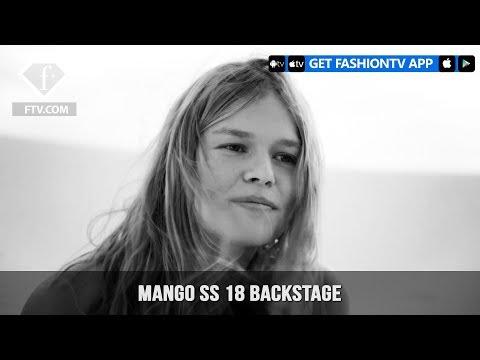 Amber Valletta, Noah Mills and Anna Ewers Talk Nature MANGO SS 18   FashionTV   FTV