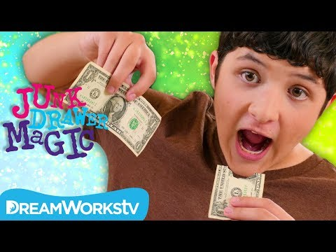 Eating Money Trick | JUNK DRAWER MAGIC
