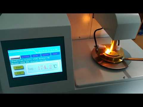 Температура вспышки в закрытом тигле ASTM D93