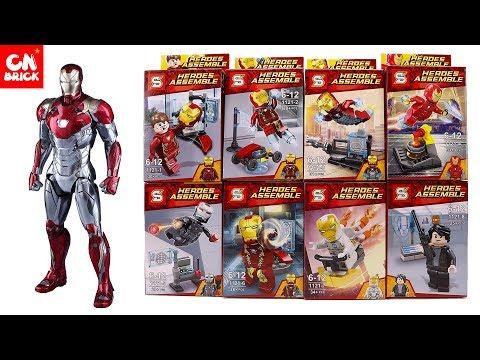 LEGO IRON MAN MARVEL SUPERHEROES SY1121 Unofficial LEGO