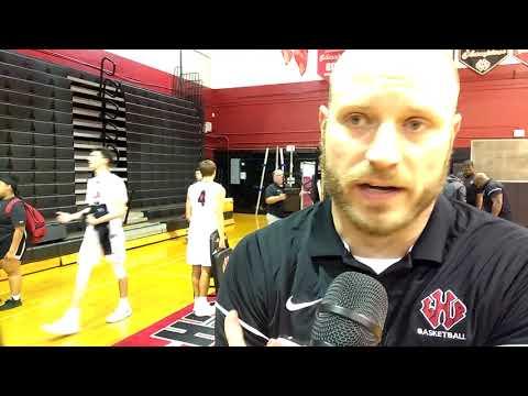 FHSAA Basketball - Lake Highland Prep 48 Jones 39 F. LHP Coach Ben Fratrick Post Game Interview