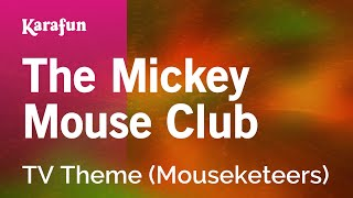 Karaoke The Mickey Mouse Club - TV Theme *