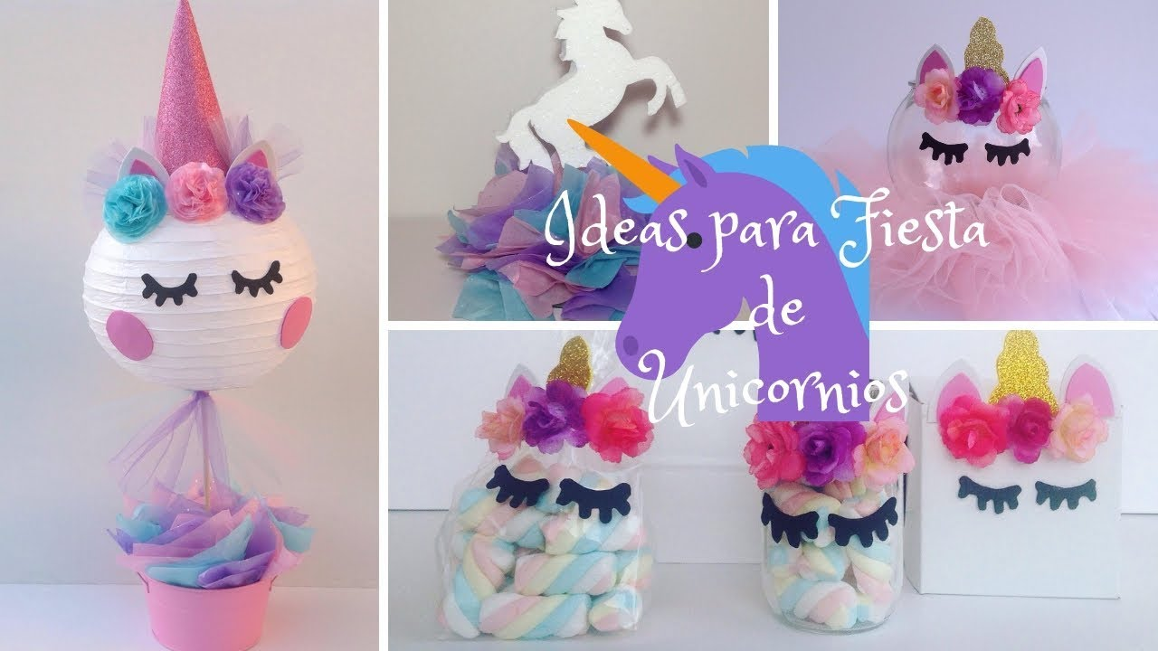 5 ideas para decorar una fiesta de unicornios fiesta de - Ideas para decorar fiestas ...