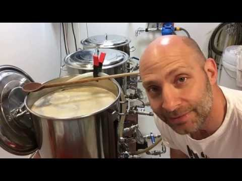 English Special Bitter Brew Day