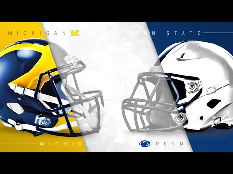 #5-michigan-vs-#14-penn-state-highlights-|-college-football-2018-🏈-live-reaction
