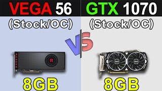 sapphire VEGA 56 vs GTX 1070
