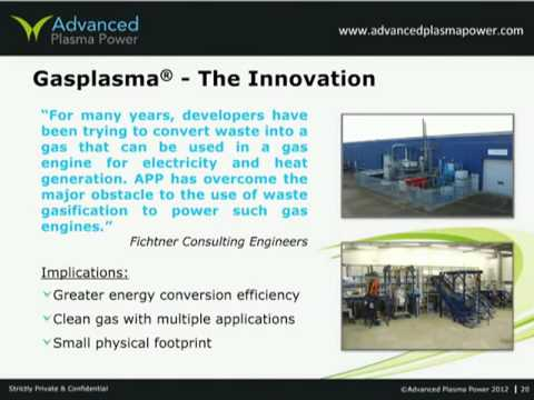 Energy from Waste - the maximum potential via advance conversion from Advanced Plasma Power