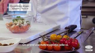 Carrier Transicold - The Delicious Salmon Recipe by Chef Jacques Mazerand (French)