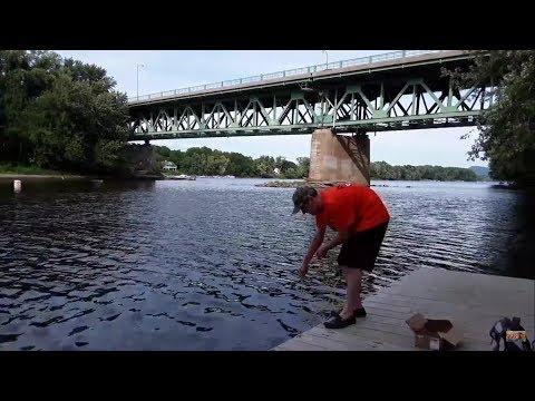 Magnet Fishing Connecticut River Rusty Junk Uncut Version