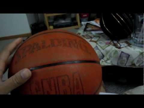 UPDATE 2::: BREAKING-IN vs BROKEN-IN SPALDING INDOOR LEATHER NBA GAME BALL COMPARISON