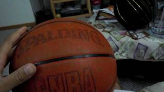 UPDATE 2::: BREAKING-IN vs BROKEN-IN SPALDING INDOOR LEATHER NBA GAME BALL COMPARISON(going back & forth with some of you guys who have been having some of the same issues ive been trying to figure out about breaking in a spalding basketball ..., 2011-06-10T08:14:34.000Z)