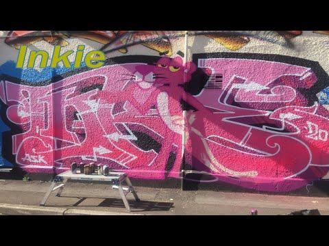Inkie - Bristol Graffiti and Street Art