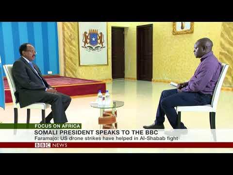 SOMALIA'S PRESIDENT SPEAKS