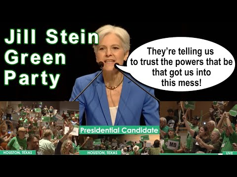Jill Stein Speaks to Green Party Convention BEFORE winning nomination.