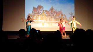 Lao Pan Noy Dance Performance - AmerAsia Week - LSA Laotian Tradition & Culture Night