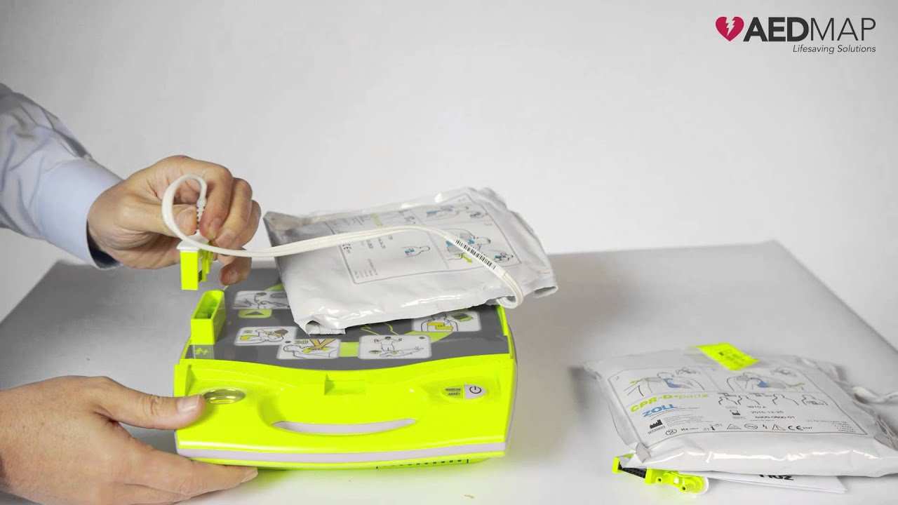 Zoll AED Plus Pads replacement