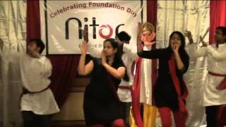 Ganpati Dance on Nitor Foundation Day Celebration