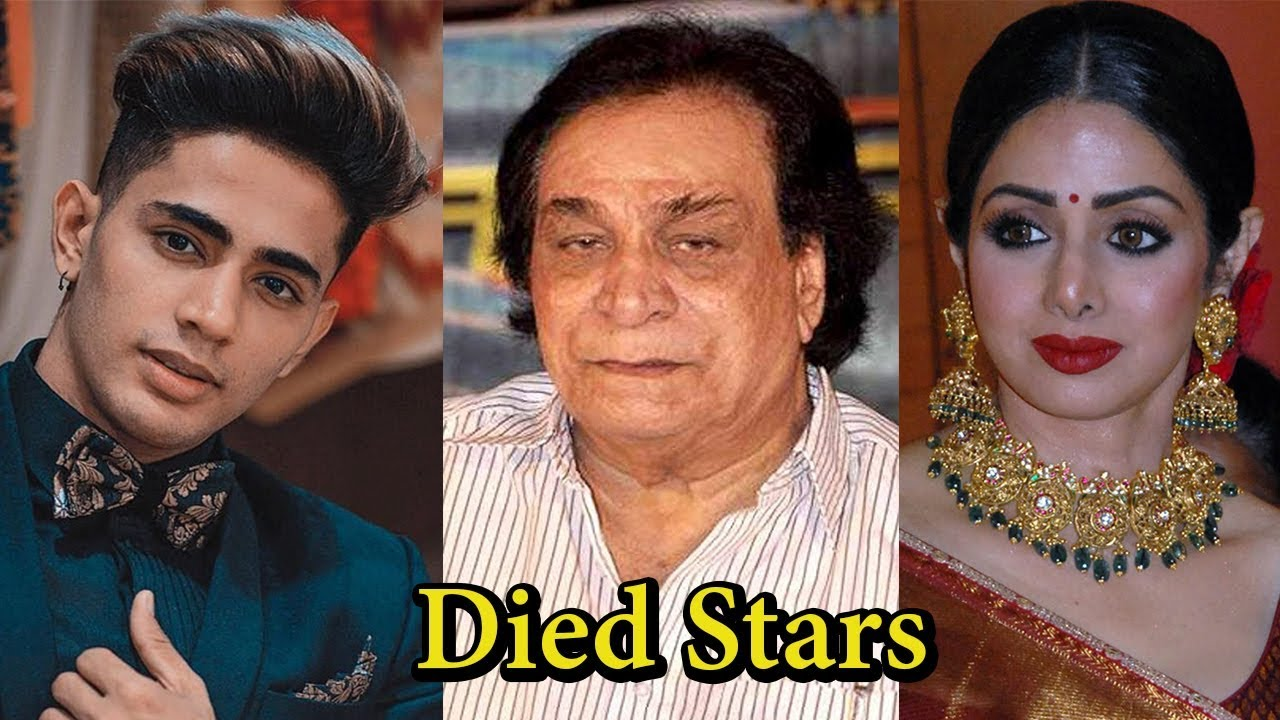 Indian celebrity death 2019 camaro