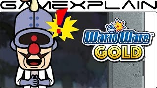 """Andre's """"Oscar-worthy"""" Performance in WarioWare Gold's Recording Studio (Dr. Crygor Cutscene - 3DS)"""