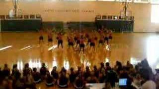 Varsity home pom dance