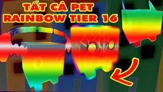 Roblox🐾 Pet Simulator - France Tôt Cô Pet Rainbow Tier 16 MinhMaMa MinhMaMa MinhMaMa