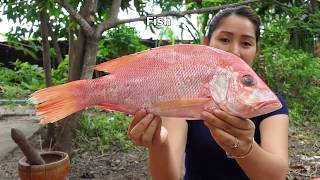 Yummy Fish Frying Vegetable With Chili Sauce Cooking   Fish Frying   For beginners 2018