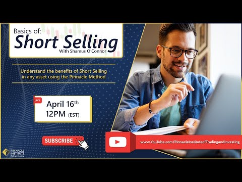 Short Selling with Shamus O'Connor: April 16th 2021, 2021