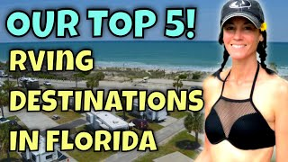 Our Top 5 RV Camping Destinations in Florida (SO FAR!)