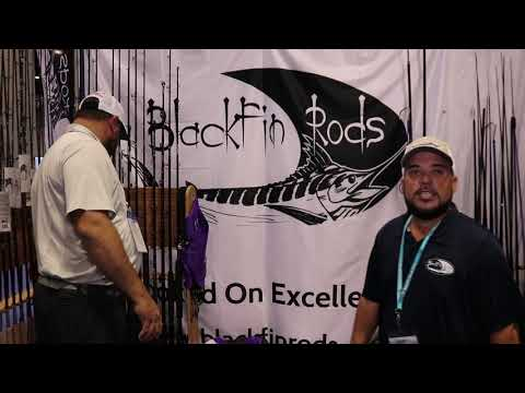 Blackfin Rods Overview At ICAST 2019