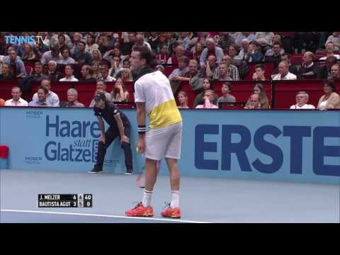 Thiem Tsonga Lopez And Melzer Advance In Vienna 2016 Highlights