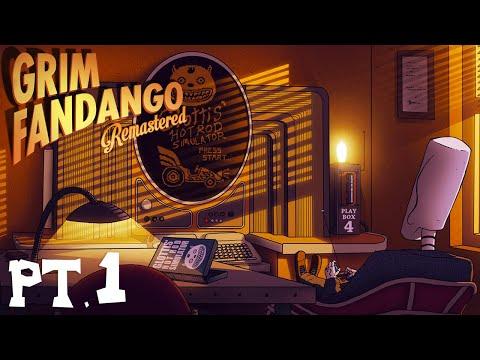Intro    GRIM FANDANGO REMASTERED    Platinum Walkthrough Part 1 (FULL GAME)