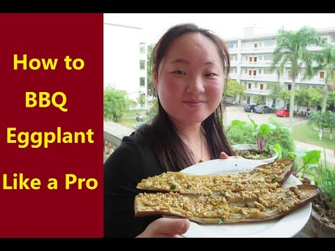 How to BBQ Eggplant