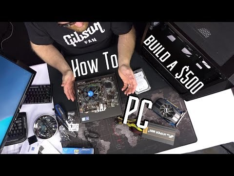 How to build a new $500 Pentium G5400 Gaming PC
