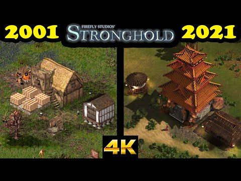 Evolution of Stronghold games (2001-2021) |