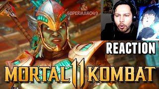 KOTAL KAHN & JACQUI REACTION! Mortal Kombat 11: Kotal Kahn & Jacqui Briggs Gameplay REACTION