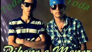 Mc Pikeno e Menor - Toda Toda ((Dj Luizinho)) ((Mundo Ostenta Funk))