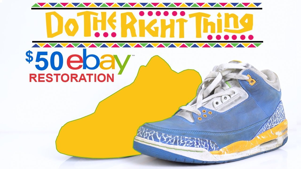 34f913bc1c1a56  50 eBay Do the Right Thing Jordan 3 s Restored by Vick Almighty ...