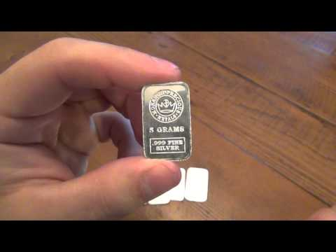 Silver Review : Monartch Precious Metals (5 Gram Bars)