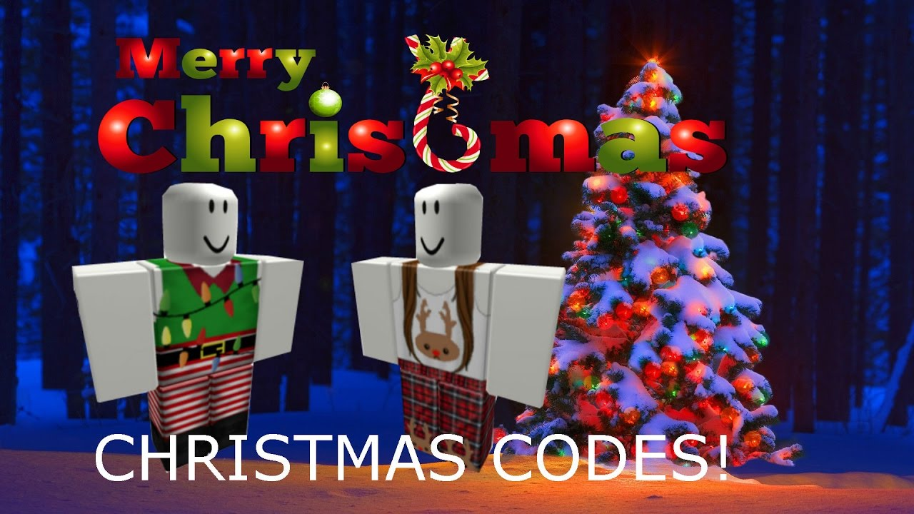 Roblox Christmas Codes!!!🎄 ️☃😍 - YouTube