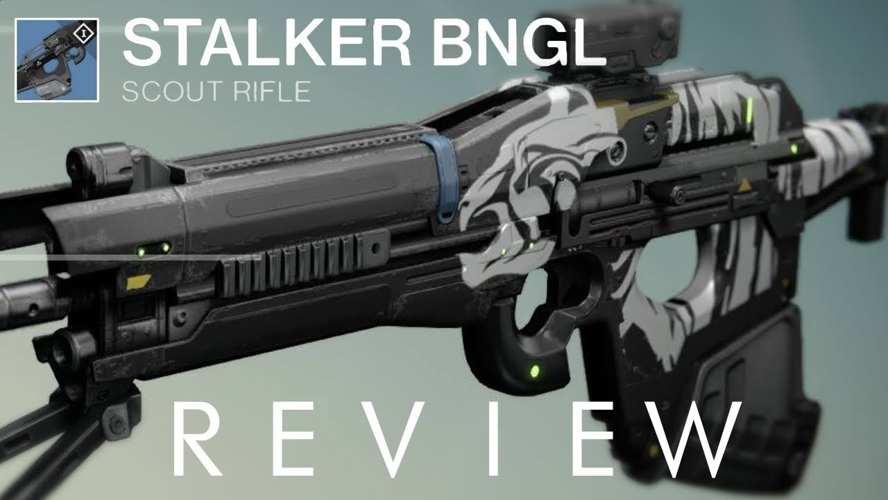 how to make weapons stalker
