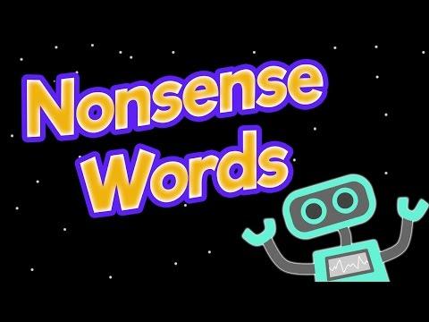 Nonsense words song 1| Phonics screening | hib, maff, shum, zoop, chaix, quij, dreeck, sterbee.