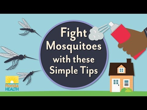 Fight mosquitoes with these simple tips!