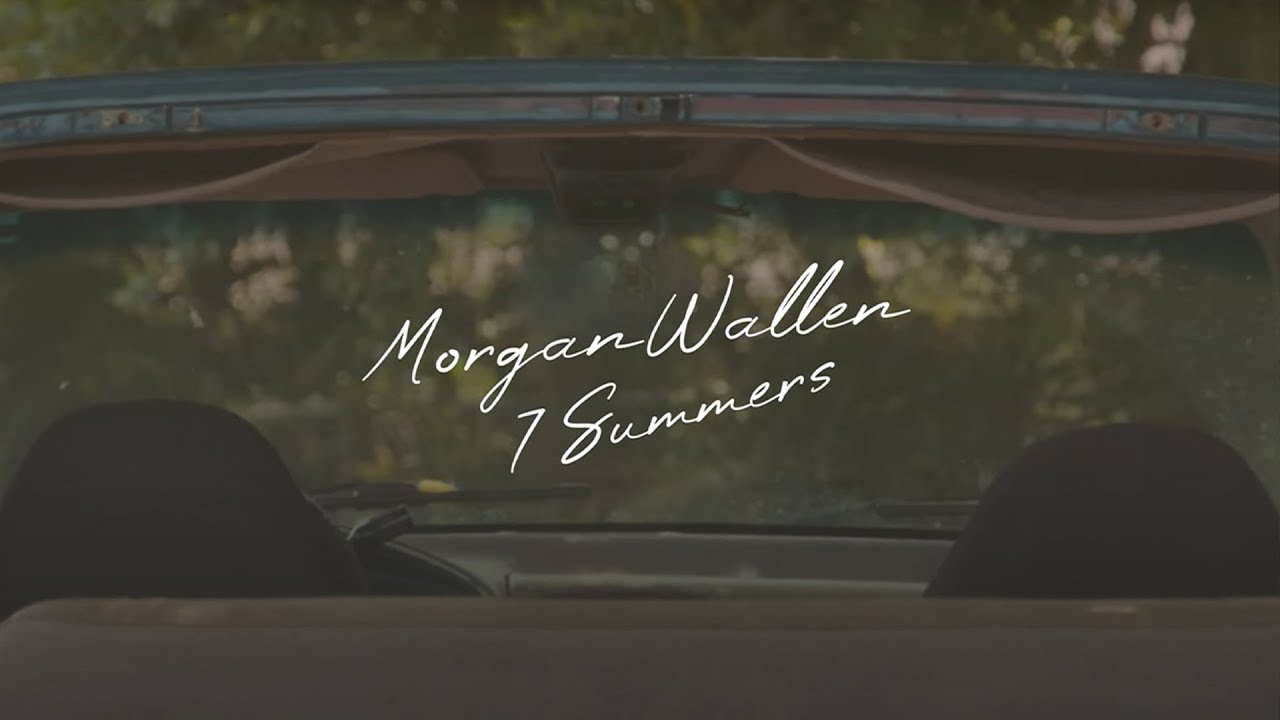 Morgan Wallen - 7 Summers (Lyric Video)